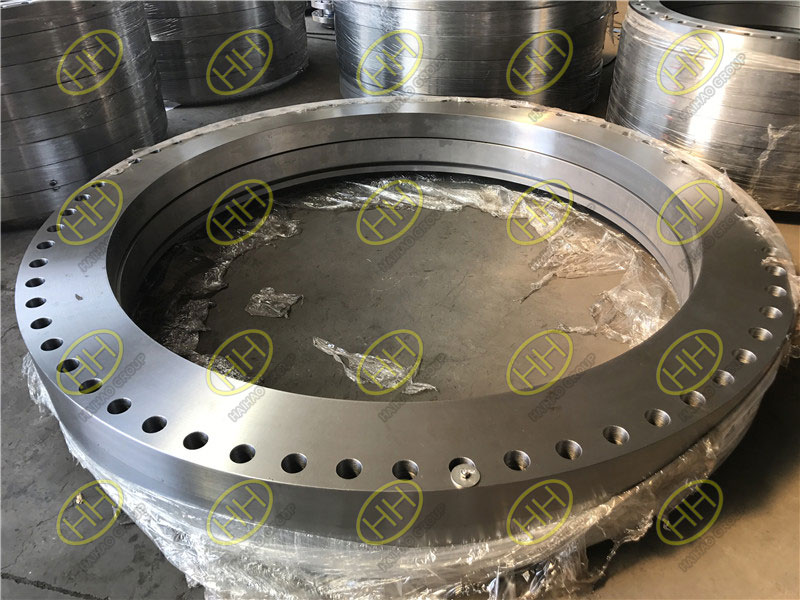 Rolled ring forging flange