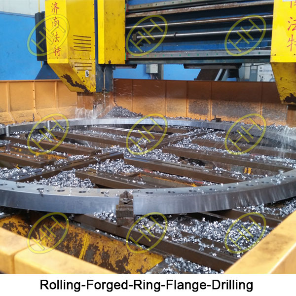 Rolling Forged Ring Flange-Drilling