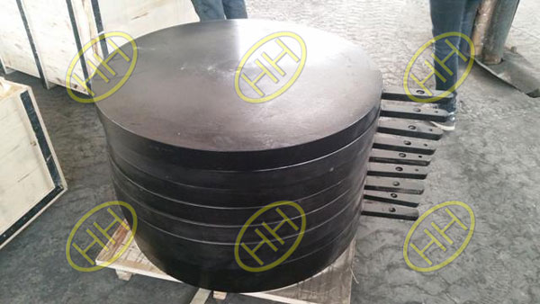 Carbon Steel Paddle Flange(Spader Spectacle Blind Flange) Finished in Haihao Flange Factory