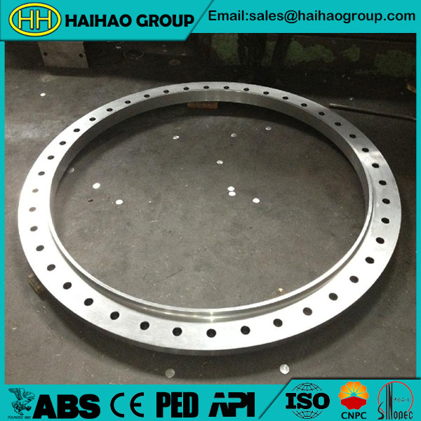 ASME B16.47 Stainless RF Rolled Forged Ring Flange