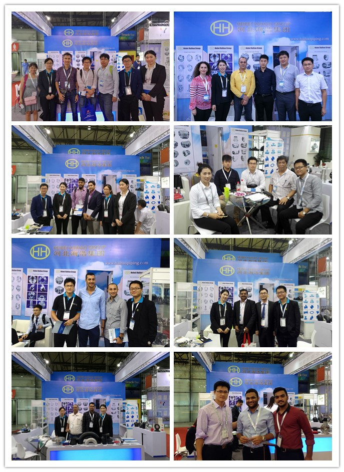 The customers of Haihao in Tube China 2016