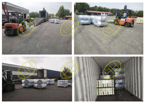 The packing and transportation of ASME B16.9 ASTM A403 WP304 elbows