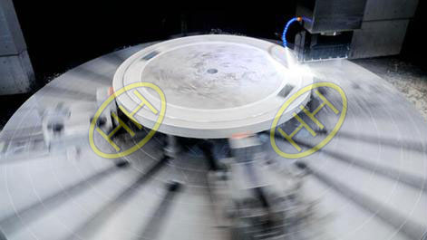 Tube sheet understand lathe machining