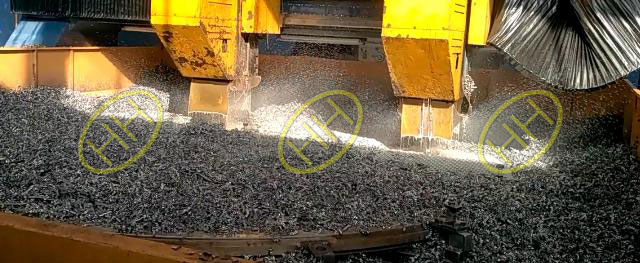 Tube sheets are under drilling in Haihao Flange Workshop