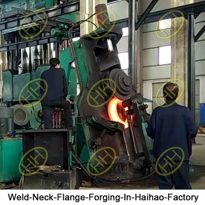 Weld-Neck-Flange-Forging-In-Haihao-Factory