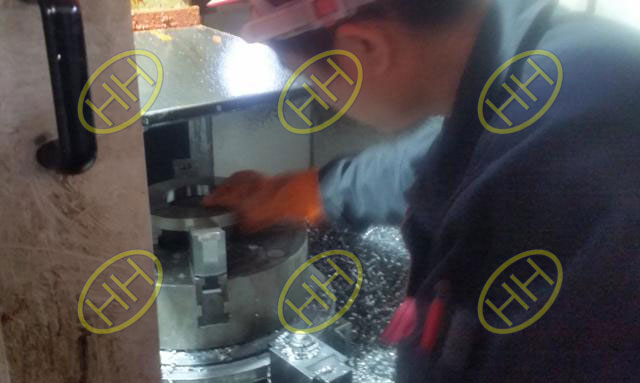 Witnessing Pipe Fittings Flanges Manufacturing Process