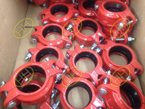 flexible grooved end couplings