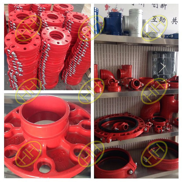 groove flanges and groove pipe fittings