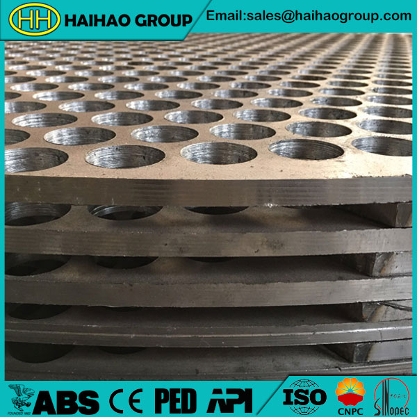 Carbon Steel ASTM A105 Tube Sheet (Tubesheet)