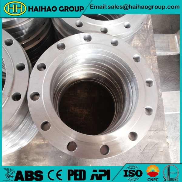 BS4504 PN40 Stainless Steel DN20 Plate Flange