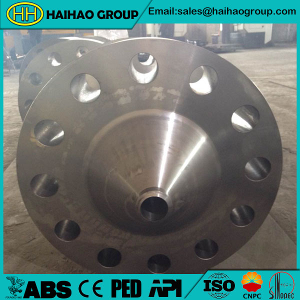 UNI PN10 Carbon Steel RF Reducing Weld Neck Flange
