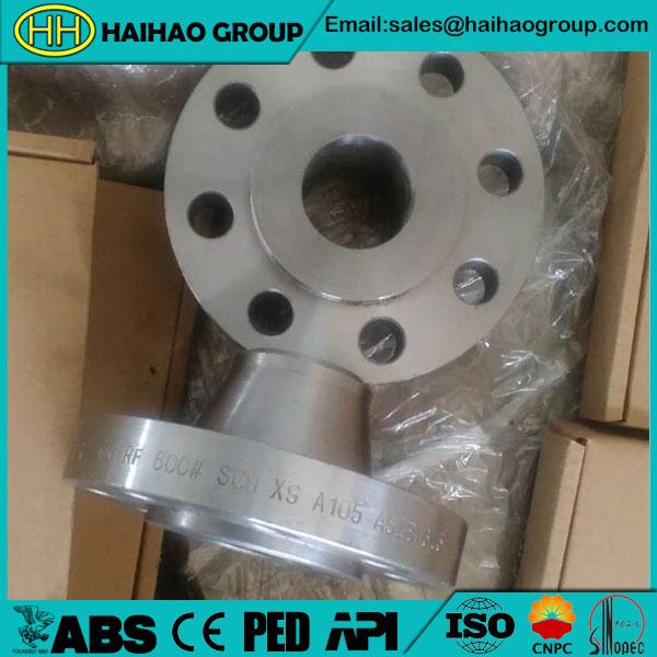ANSI B16.5 RF 600# SCH XS A105 Weld Neck Flange