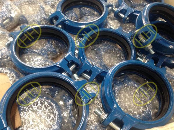 rigid grooved end couplings