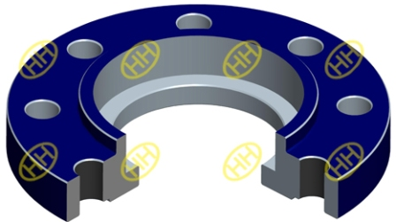 socket weld flange drawing