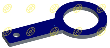 Spacer Spectacle Blind Flange Drawing