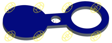 Spectacle Blind Flange Drawing