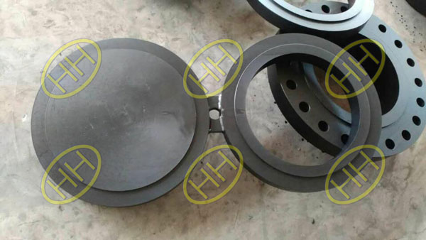 Carbon Steel Spectacle Blind Flange finished in Haihao Group