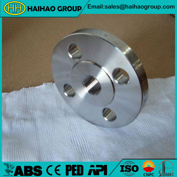 "150LB ASME B16.5 A182 F321 1/2""-24"" Threaded Flange"