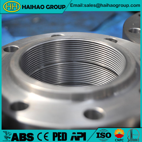 150# ANSI B16.5 Stainless Steel Threaded Flange