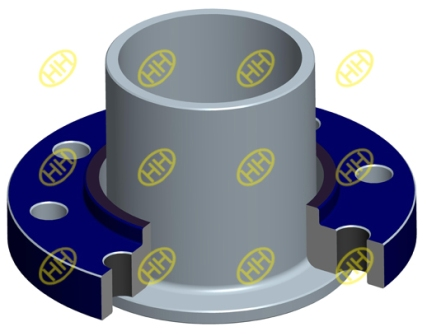 lap-joint-flange-stub-end-drawing