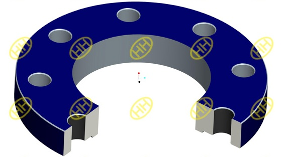 plate-plain-flange-drawing