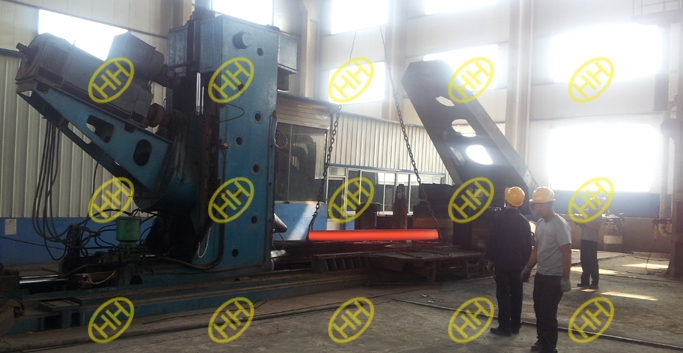 rolled-forging-of-rolled-forged-ring-flange-in-haihao-workshop